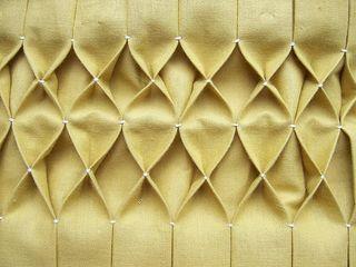 Honeycomb smock