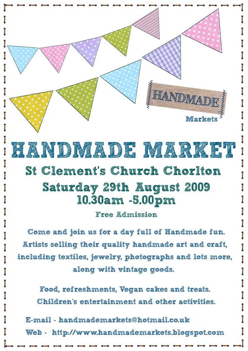 Chorlton craft fair