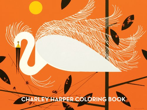 Charley Harper deluxe coluring book